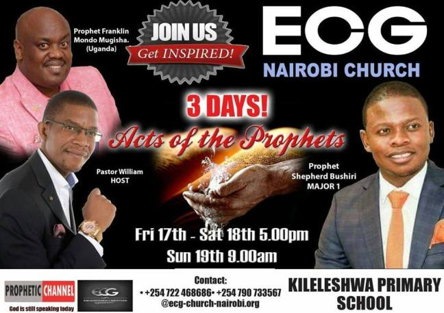 prayers, healing, deliverance, ecg nairobi church