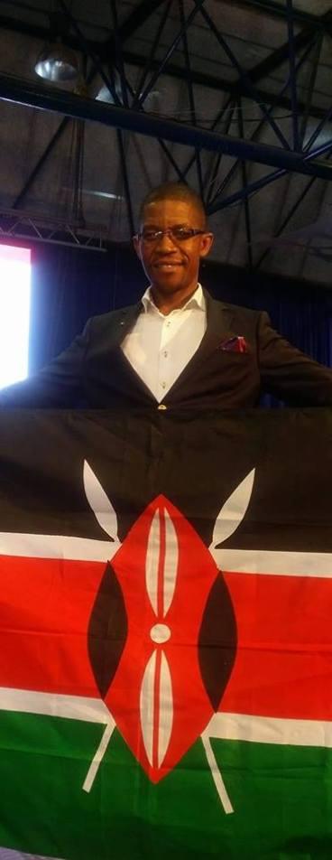 Pastor William at ECG Church Pretoria