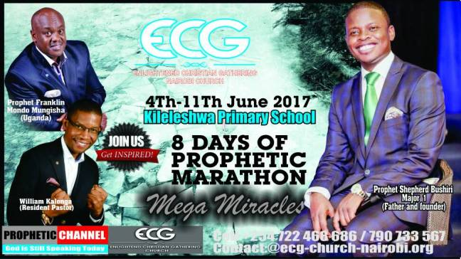 8 Days of Prophetic Marathon
