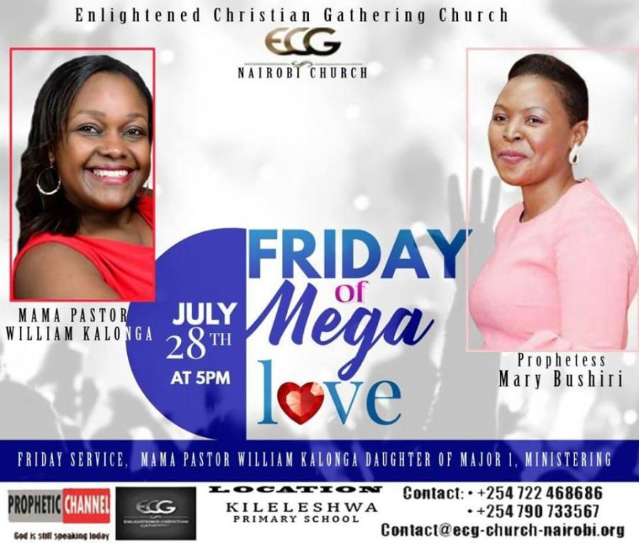 Friday of Mega Love