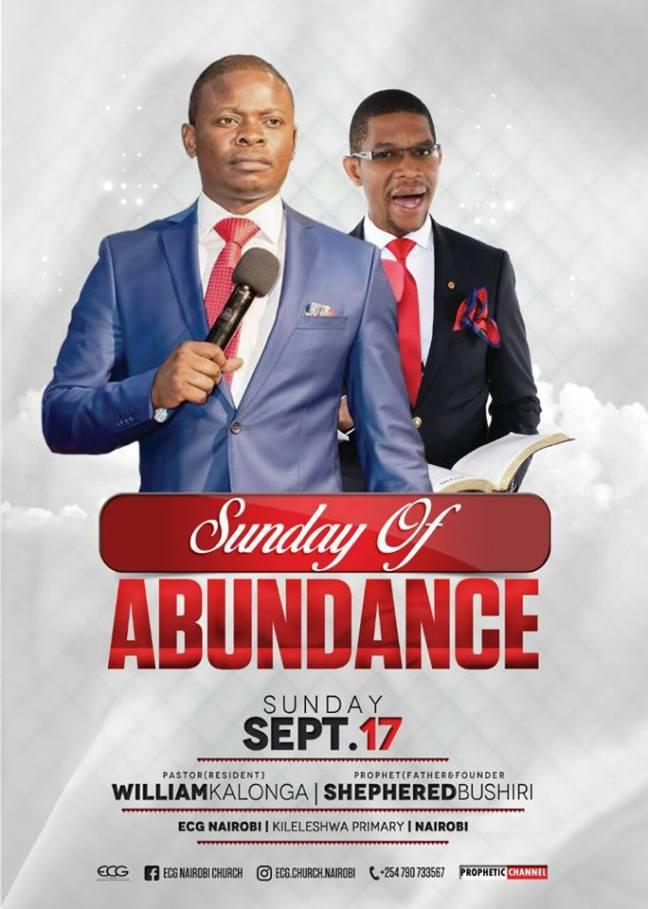 Sunday of Abundance