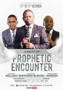 3 Day Prophetic Encounter