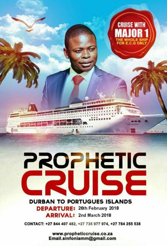 Prophetic Cruise With Prophet Shepherd Bushiri