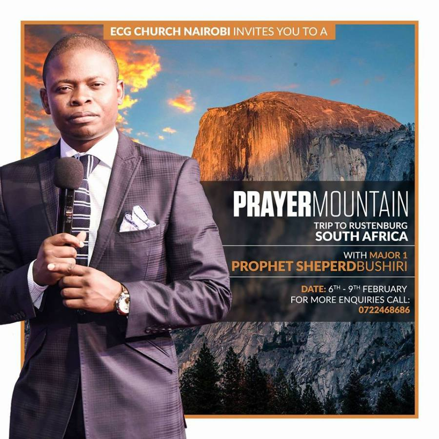 Prayer Mountain _ Prophet Sheperd Bushiri
