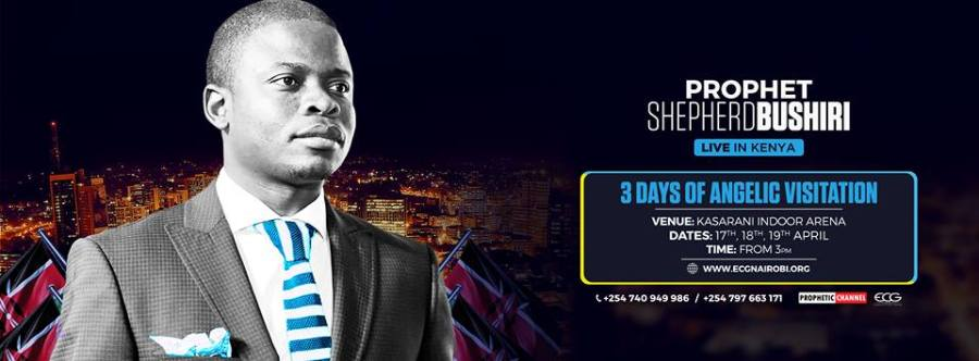 3 Days of Angelic Visitation with Prophet Shepherd Bushiri